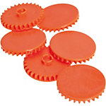 Disques pour perforateur Rapid HDC300 Argenté, orange