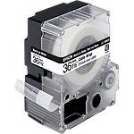 Enroulé pour câbles Epson LC7WBC9 Noir sur Blanc 36 mm x 9 m