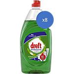 Liquide vaisselle Dreft Fairy 8 x 1 l