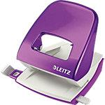 Perforateur Leitz Nexxt WOW Violet métallisé 30 Feuilles 2 trous, 8 cm