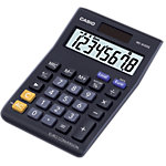 Calculatrice Casio MS 8VER II 8 chiffres Noir