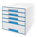 Module de classement Leitz WOW Blanc, bleu 28,7 x 36,3 x 27 cm