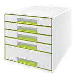 Module de classement Leitz WOW Blanc, vert métallisé 28,7 x 36,3 x 27 cm