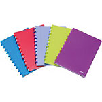 Cahier ATOMA A1372 Assortiment Ligné, 8 mm A4+   90 g
