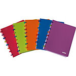 Cahier ATOMA Tutti fruit Assortiment Quadrillé A4   90 g