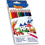 Crayons de couleur JOVI Colouring Assortiment 12 Unités