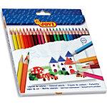 Crayons de couleur JOVI Colouring Assortiment 24 Unités