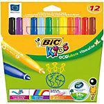 Feutres BIC Visacolor XL XL Assortiment 12 Unités