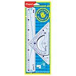 Kit de Géométrie Maped Pour gauchers Transparent   3 Unités