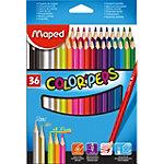 Crayons de couleur Maped 832017 2,9 mm Assortiment 36 Unités
