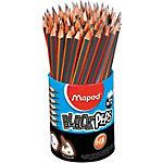 Crayons de mine Maped HB Gris 72 Unités