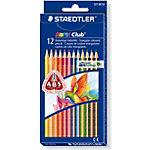 Crayons de couleur STAEDTLER Noris Club Triplus Assortiment 12 Unités