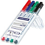 Marqueur pour tableaux blanc STAEDTLER Lumocolour M 1 mm Assortiment 4 Unités