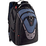 Sac à dos pour PC portable Wenger Swissgear Ibex polyester Noir, bleu 48 x 25 x 38 cm