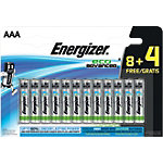Piles Energizer Alcaline Eco Advanced AAA AAA Paquet 12