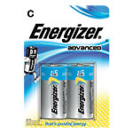 Piles Energizer Alcaline Eco Advanced C C Paquet 2