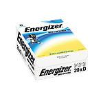 Piles alcalines Energizer Alcaline Eco Advanced D D 20