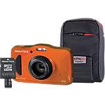 Appareil photo numérique Praktica WP240 O  20 Mégapixels Orange