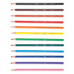 Crayons de couleur inéffritable en résine BIC Ecolutions™ Evolution Assortiment de couleurs 18 Unités