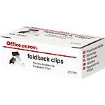 Pinces double clip Office Depot Noir 15 x 28 mm 12 Unités