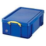 Boîte de rangement Really Useful Boxes Polypropylène Bleu 18 l 480 x 390 x 200 mm