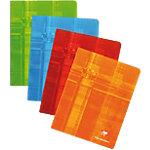 Cahier Clairefontaine Piqué Blanc Quadrillé 5 x 5 mm Non 165 x 210 mm 90 g