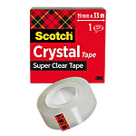 Ruban adhésif Scotch Crystal Transparent 19 mm x 33 m