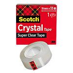 Ruban adhésif Scotch Crystal Transparent 19 mm x 33 m
