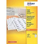 Étiquettes pour photocopieur Avery DPS 14 Blanc 105 x 42 mm 100 Feuilles