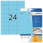Étiquettes HERMA Bleu 70 x 37 mm 20 Feuilles