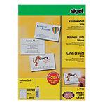 Cartes de visite pour PC Sigel 3C Ultra Blanc 185 g