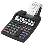 Calculatrice imprimante Casio HR 150TEC 12 chiffres Noir