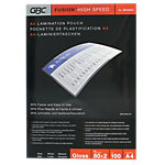 Pochette de plastification GBC Highspeed™ A4 2 x 80 (160) µm Transparent Brillant