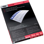Pochettes de plastification GBC Highspeed™ A4 2 x 125 (250) µm Transparent Brillant