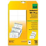 Cartes de visite pour PC Sigel 3C Blanc 185 g