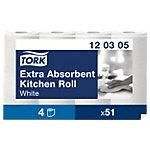 Tork Küchenrollen Premium extra saugfähig 3  lagig Pack 4