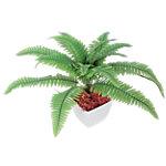 Künstliche Pflanze Farn Grün