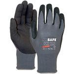 M Safe Handschuhe Mikroschaum Nitril Größe 8