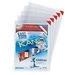 Tarifold Magnet Sichttasche Kang Easy clip A4 Transparent PVC   5 Stück