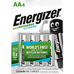 Energizer Wiederaufladbare Batterien AA AA Pack 4