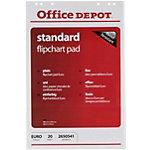 Office Depot Flipchart Papier FL0320403 Weiss 70 g