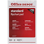 Office Depot Flipchart Papier FL0320603 Weiss 70 g