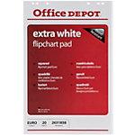 Office Depot Flipchart Papier Extra Weiss 80 g