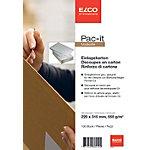 ELCO Einlegekarton Grau 220 x 315 mm 100 Stück