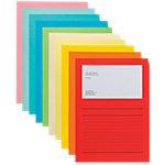 Elco Organisationsmappen Ordo Classico A4 Farbig assortiert Papier mit Liniendruck 320 x 220 mm 100 Stück
