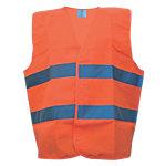 Sicherheitsweste Polyester One size Orange