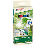 edding Permanent Marker EcoLine 21 Rundspitze 1.5   3 mm Farbig assortiert 4 Stück