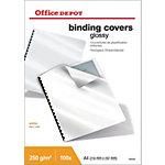 Office Depot Einbanddeckel Karton Hochglanz A4 250 g