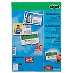 Sigel PC Visitenkarten 3C A4 210 g