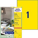 Avery Universaletiketten QuickPEEL™ Gelb 210 x 297 mm 100 Stück
